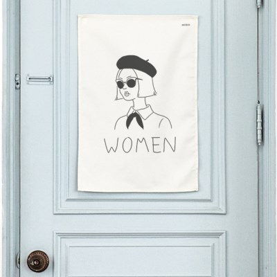 토일렛 패브릭 포스터 / 화장실 표지판