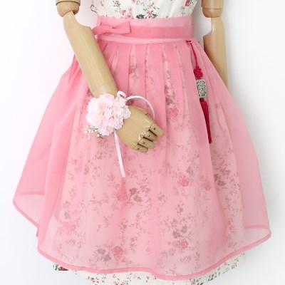 노방 허리치마(핑크)