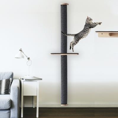 [브리스캣] 원목 캣워커 1500 고양이 구름다리 스텝형_(1459723)