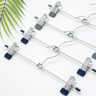 논슬립 코팅 회전형 치마바지걸이 10P