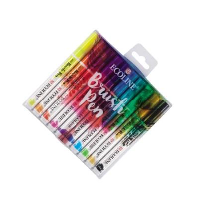 [로얄탈렌스] 탈렌스 에코라인 브러쉬펜- 10color Set_(878833)