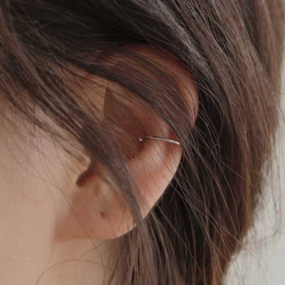 thin basic ear cuff