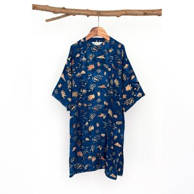 [Kids Robe] Sunset - Navy