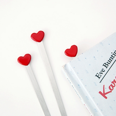 Heart Bookmark -1개