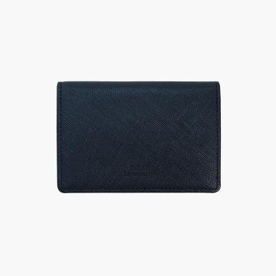 D.LAB Basic Leather Namecard wallet - Navy