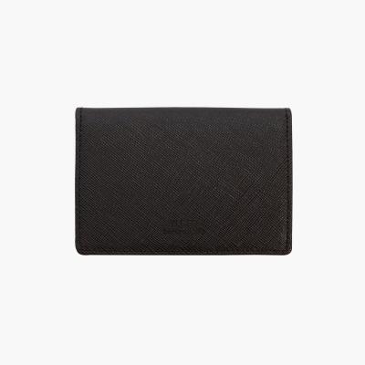 D.LAB Basic Leather Namecard wallet - Brown