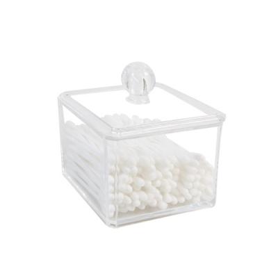 화장솜 면봉 먼지차단 아크릴 뷰티 오거나아저 MiMi_(844634)