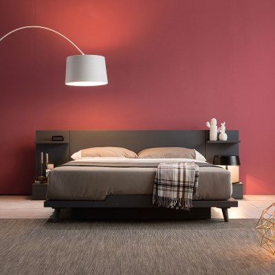 [잉글랜더]스미스 평상형 침대(WC케미컬폼65T 필로우9존독립매트-퀸)