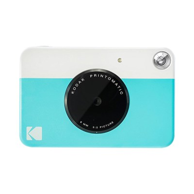 코닥 디지털 즉석카메라 프린토매틱(PRINTOMATIC) 블루
