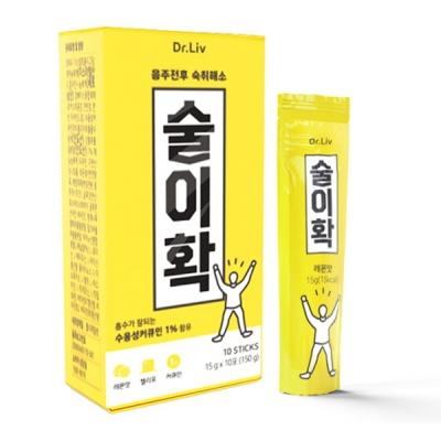 닥터리브 먹기편한 숙취해소 젤리포 술이확(10포)