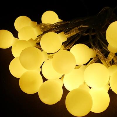 [브라이덜샤워/인테리어/파티용품] LED 앵두전구 20구 웜등
