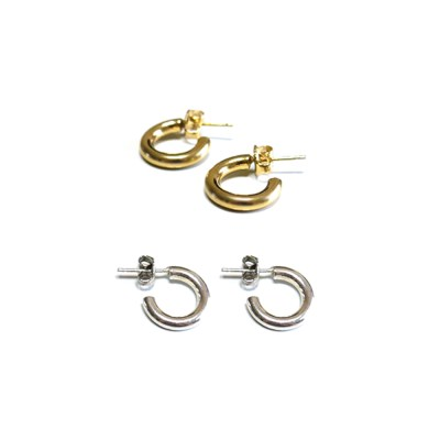 open round earring (2colors)
