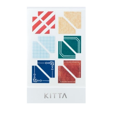 [KITTA seal] 포켓형 데코 스티커_KITD005