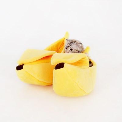 바나나쿠션침대