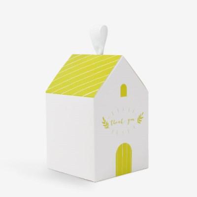 옐로우 길쭉한 하우스박스(5개)