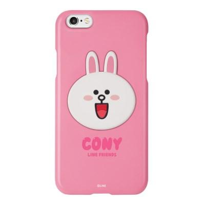 라인프렌즈 송풍구 거치 케이스 컬러 슬림핏 코니 아이폰6/6s