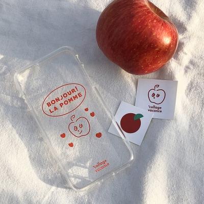 [세트상품] La pomme Case Set (Red)