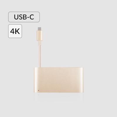모쉬 USB-C 멀티포트 어댑터_새틴골드