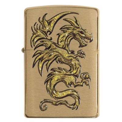 주문폭주 특별할인 名品[ZIPPO] 29725 Dragon Design_(1311490)