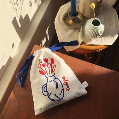 Singing Tulipe Lucky Pouch (Blue)