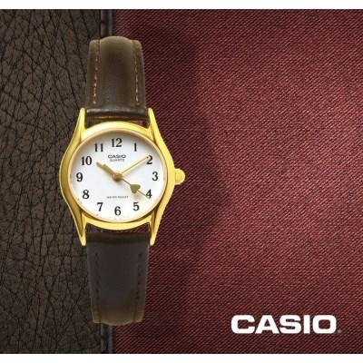 CASIO 카시오 LTP-1094Q-7B5 여성시계 가죽밴드 패션시계