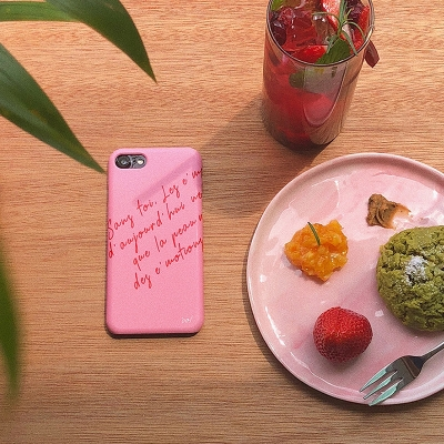 Amelie Case (Cherry Pink)