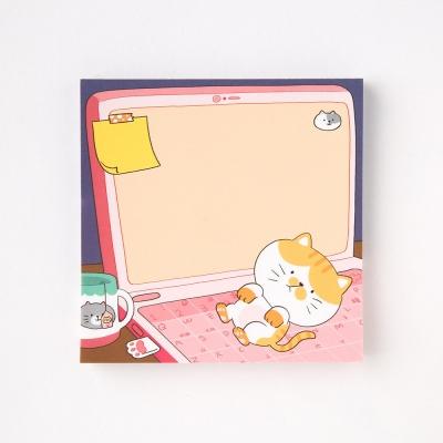 [또자] 노트북 고양이 메모지