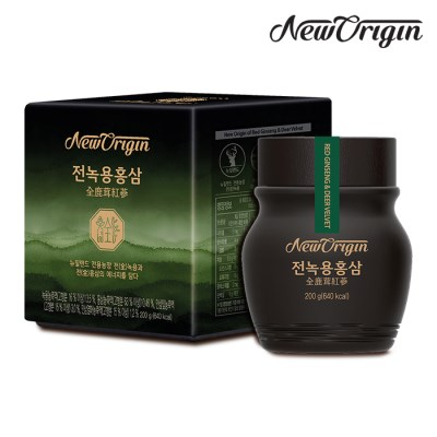 [유한양행] 뉴오리진 전녹용홍삼 200g_녹용홍삼농축액