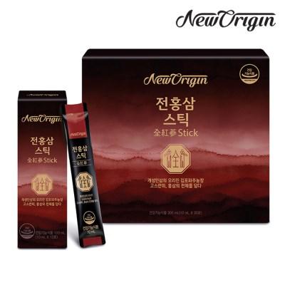 [유한양행] 뉴오리진 전홍삼 스틱 10ml x 30포_홍삼스틱