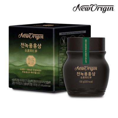 [유한양행] 뉴오리진 전녹용홍삼 100g_녹용홍삼농축액