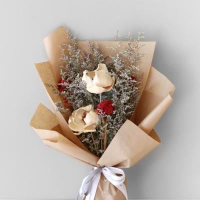 팜 플라워 & 맨드라미 꽃다발
