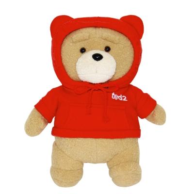 19곰 테드 인형 후드티 2.0 레드 30CM_(927458)