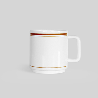 FLASK Cafe mug_Tan brown