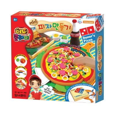 [허니클레이] 미니 피자 만들기