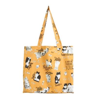 고양이삼촌 가방 - 새초롬브라운