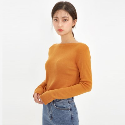 boat neck fall knit_(1026099)