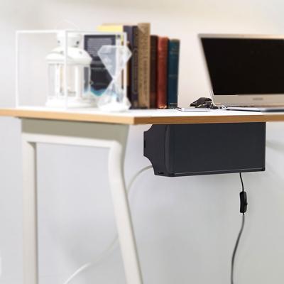 멀티업 책상부착용 멀티탭 정리함