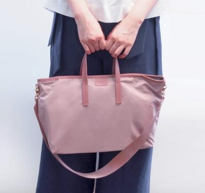 [율그란] 기저귀가방 토트백 (3-way 숄더백, 크로스백) 누디핑크