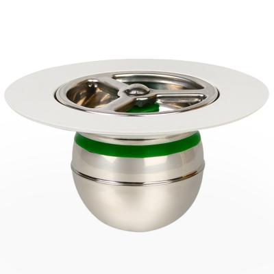 도원드레인 하수구냄새차단트랩 스텐레스 지름50mm