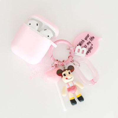 페코짱 Mini Charm + AirPods