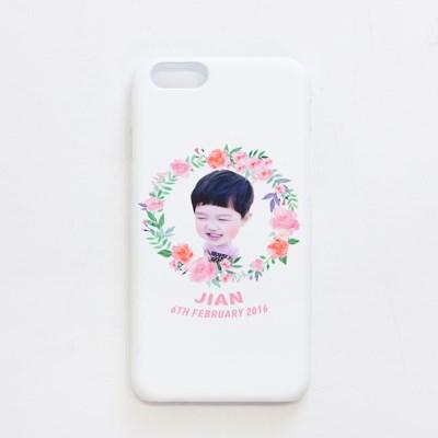 [키미티즈] 포토 휴대폰 하드케이스 (플라워)