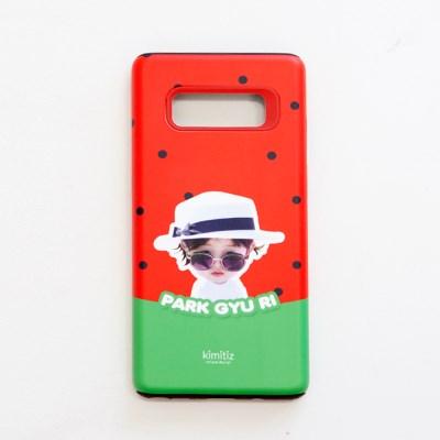 [키미티즈] 포토 휴대폰 하드케이스 (수박)