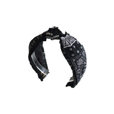 chic ethnic hairband (black)