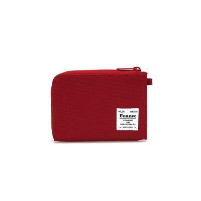 FENNEC C&S MINI WALLET - SMOKE RED