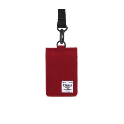 FENNEC C&S CARD POCKET - SMOKE RED