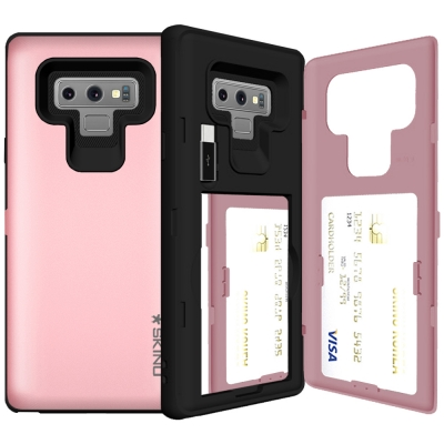 SKINU 유레카 카드수납 케이스 - 갤럭시 노트9 (C-type USB젠더포함)