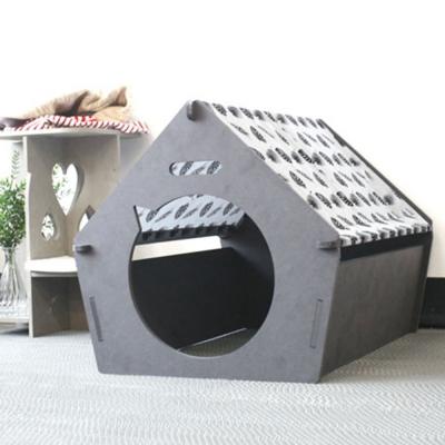 런메이크 인디언하우스-강아지집 애견텐트 개 고양이