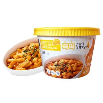 국떡 컵볶이 매콤까르보