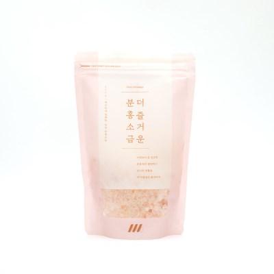 데콤포 더 즐거운 분홍소금 파우치타입