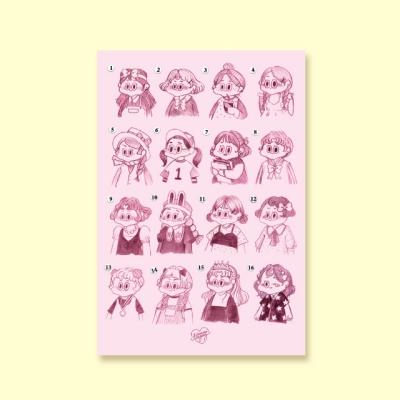 [LEEGONG] 엽서 - GIRL 1